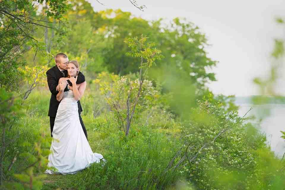 Wedding Photos at Cedarburg Bog