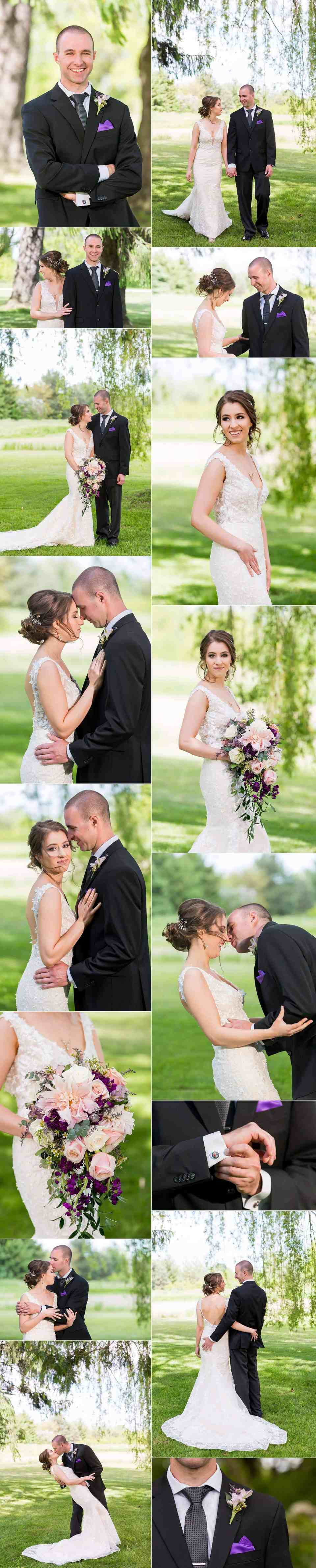 Outdoor Wisconsin Wedding by Willow Trees