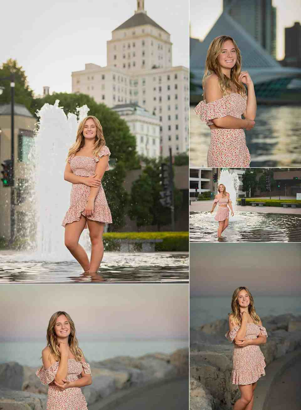 Senior Pictures in Downtown MKE