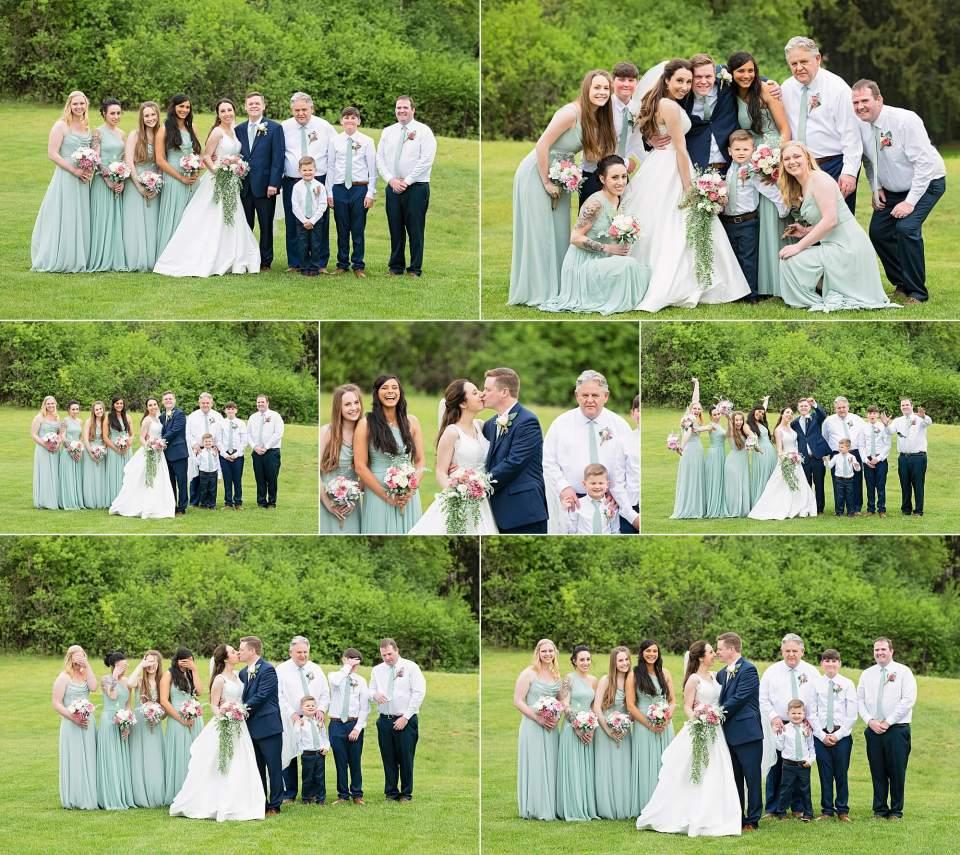 bridal party Lake-Country-Wedding-Hartland-WI