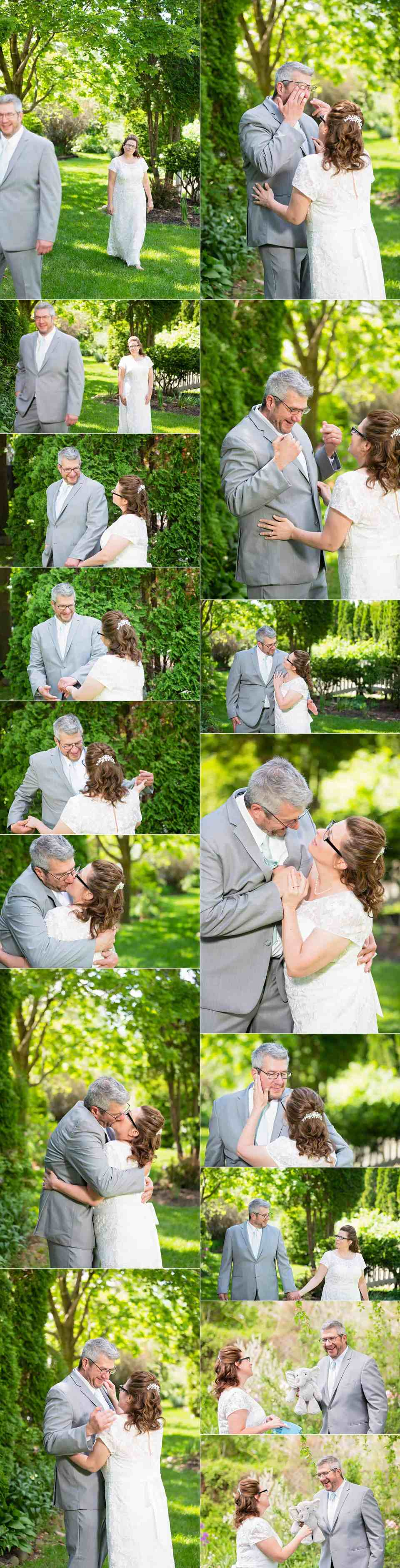 First Look at Spring Wedding at The Gardens in Allenton, WI