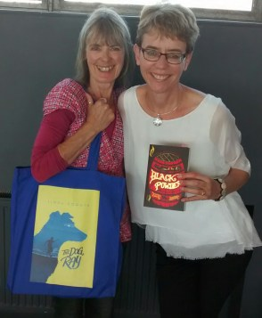 Ally with fellow shortlistee and author, Linda Coggin