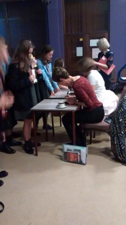 Signing queue