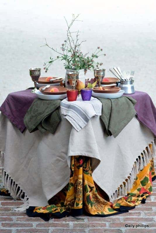 the fall of table design tips