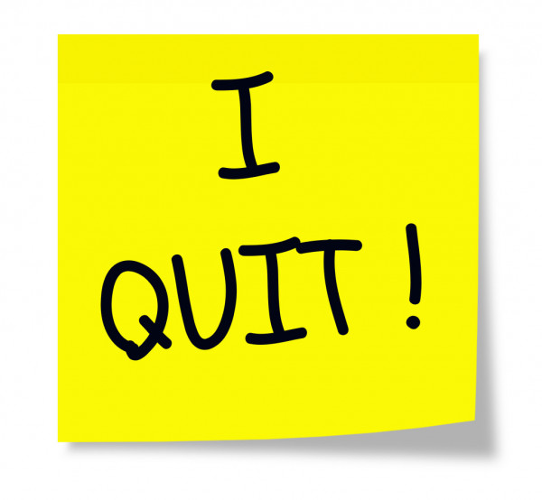 Calling All Quitters! Why We Quit