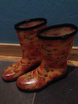 Cheery boots