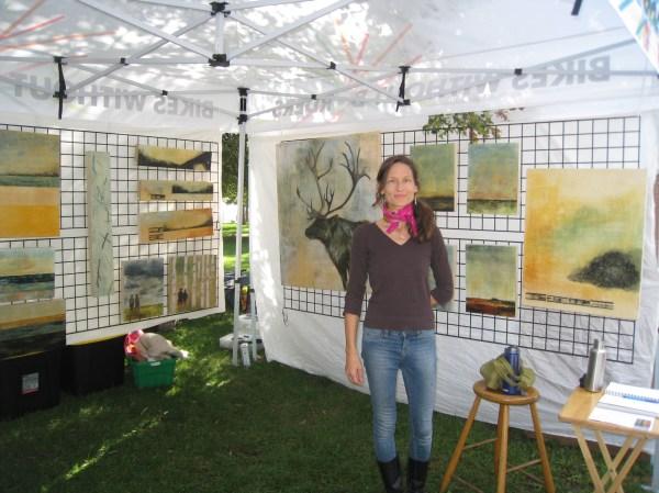 Outdoor Art Show & Allyson Payne