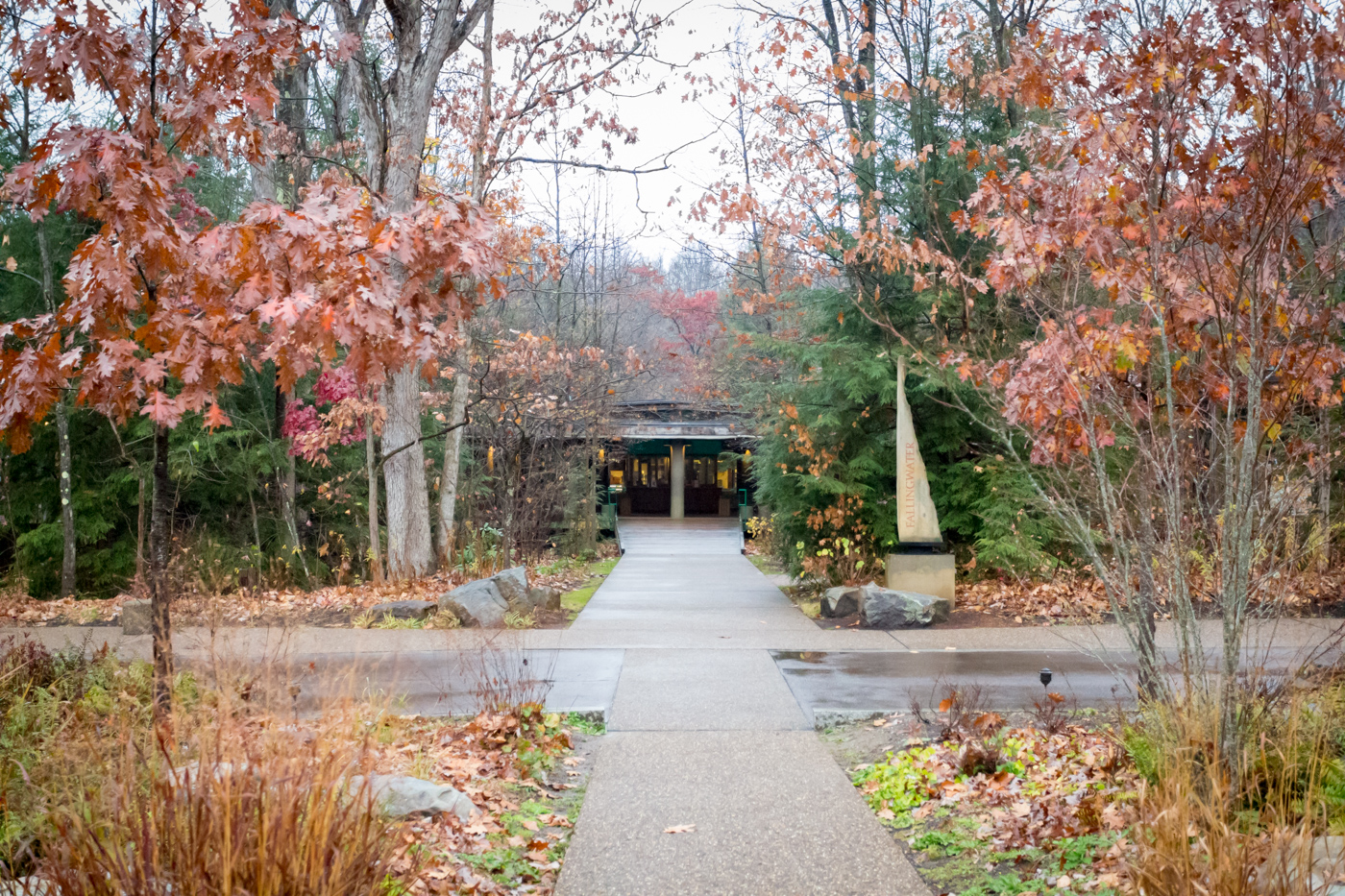 Entrance to Fallingwater