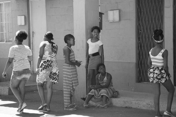 Girls in Langa Township, South Africa  (c) Allyson Scott