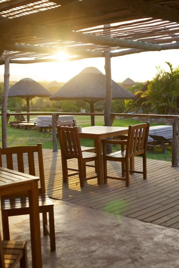 Garden Route Game Lodge at sunset  (c) Allyson Scott