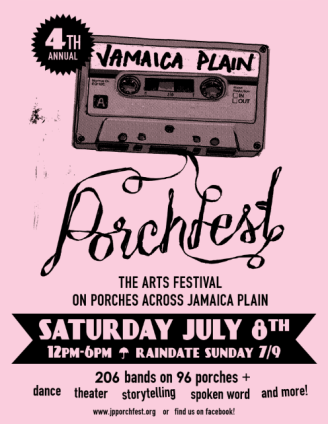 Porchfest 2017 Poster