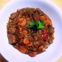 Ally Cooks Guinness Beef Stew