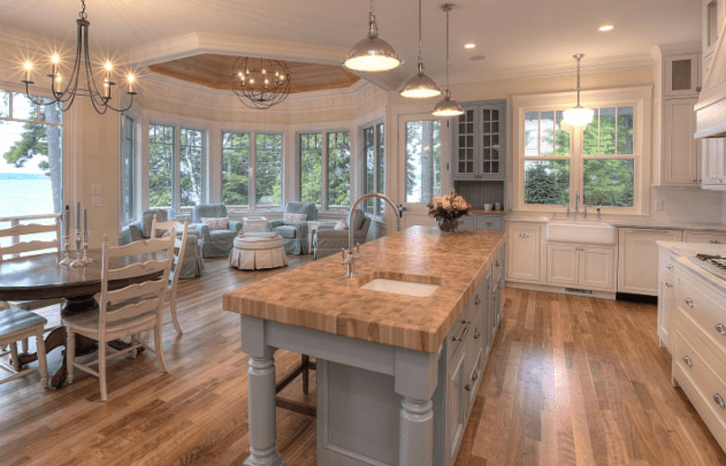 Coastal beach kitchen