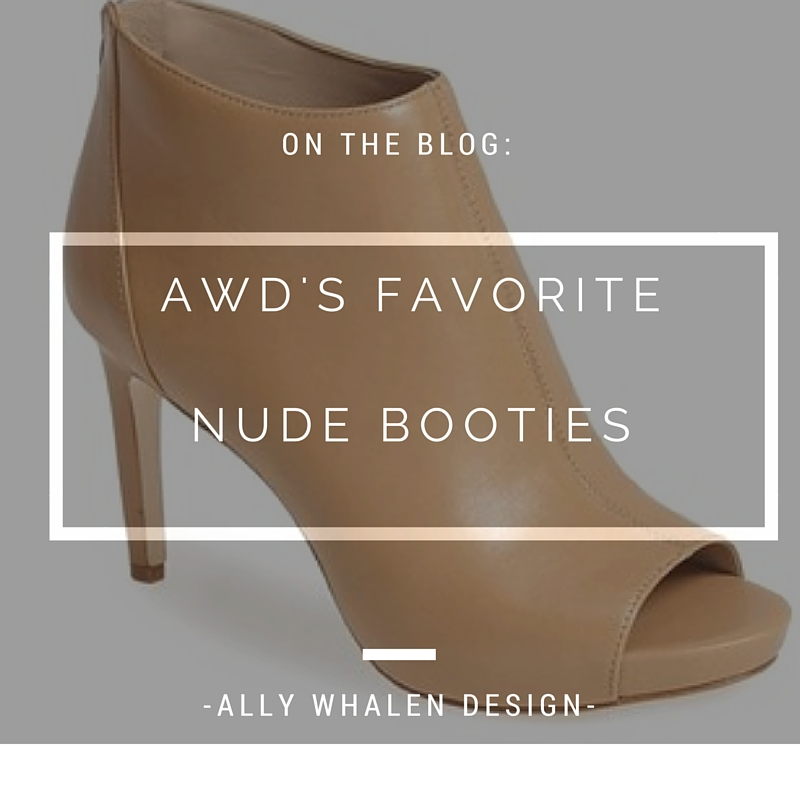 Favorite Nude booties
