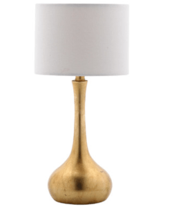 Gold Hershey lamp