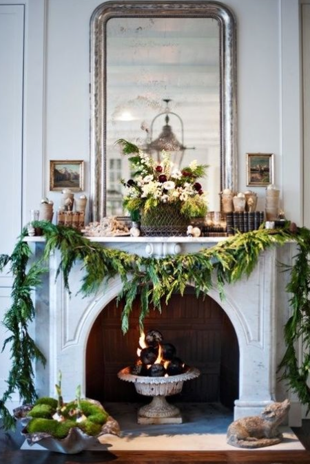 Beautiful Holiday mantel ideas