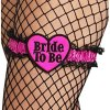 """Strumpfband """"Bride to be"""""""