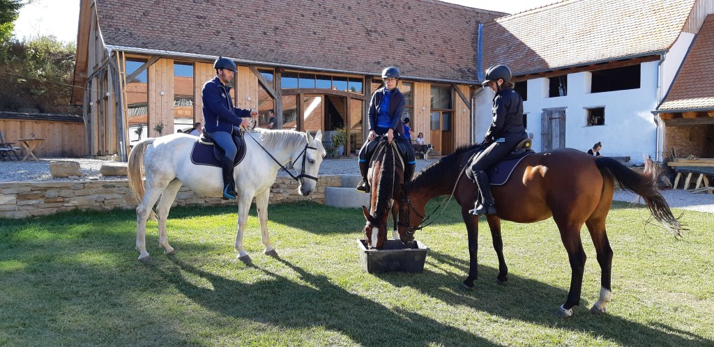 Alma Via Guesthouse & Restaurant enjoys hosting horse riders