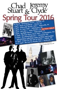 Chad and Jeremy Tour 2016
