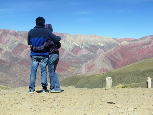 Cerro de los 14 colores maravilla