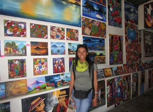 Galerías en San Juan de la laguna lago Atitlán