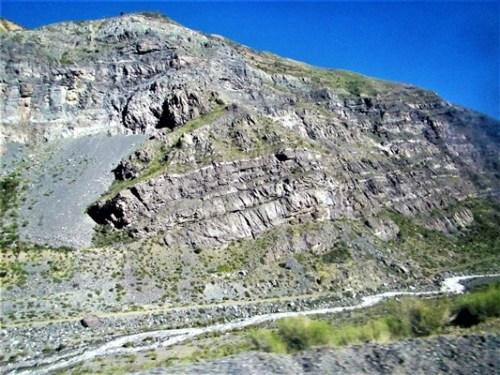 Fuertes procesos geológicos