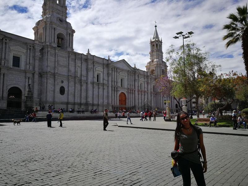 Centro histórico de Arequipa - La Ciudad Blanca de Perú