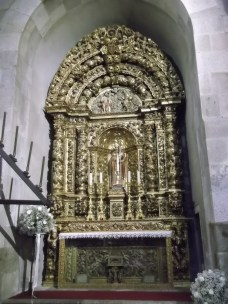 Side altar of St. Martin of Dume