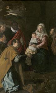 Velázquez. Adoración de los Reyes. 1619. Museo del Prado