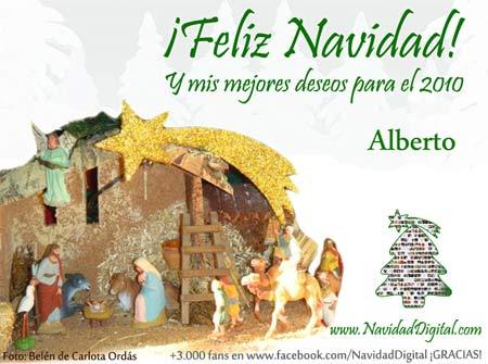 Feliz Navidad y Próspero 2010