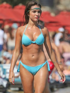 Catarina-Sikiniotis-Shows-Off-Her-Blue-Bikini-in-Greece-08