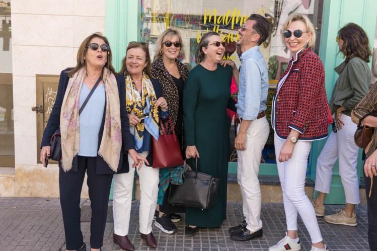 Elena Castrillón, Remedios Fortuny, Victoria Reynes, Teresa Manresa y Berthe Kragelund © La Siesta Press / J. Fernández Ortega © La Siesta Press / J. Fernández Ortega