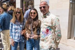 Mila Lázaro, Esquitxo y Philippe © La Siesta Press / J. Fernández Ortega