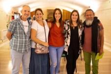 Pep Falco, Ingra Hansa , Maria Cabañero, Xisca Castell y Samir Venegas