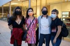 Paula Sernadas, Nadia Barberón, Carla Rossasalvoy Sara Miraldi