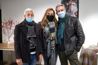 Fernando Moreno, Mariluz Pérez De la Fuente y Alex Bonnefoy