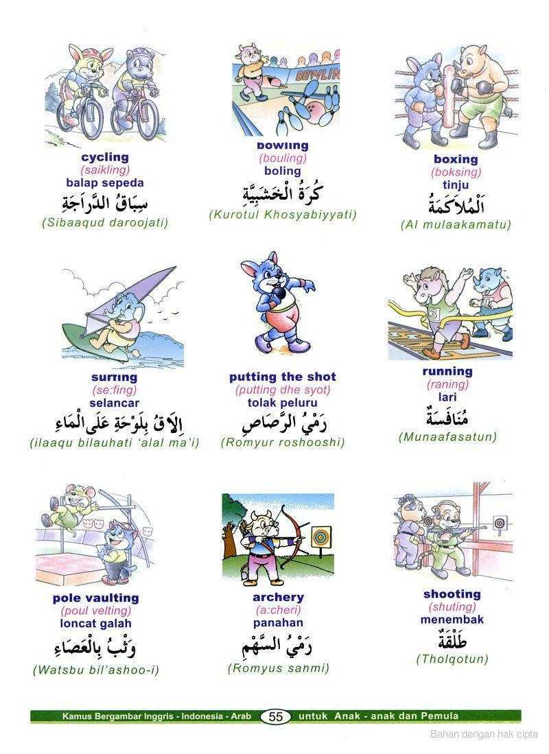 Kamus Bahasa Arab Bergambar  Almachzumis Blog