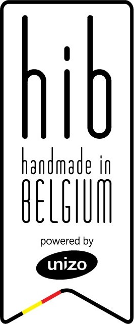 Hand made in belguim logo