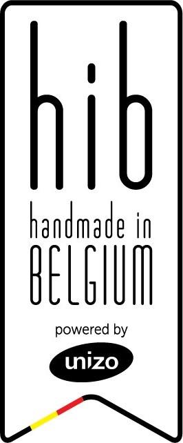 Hand made in belguim logo