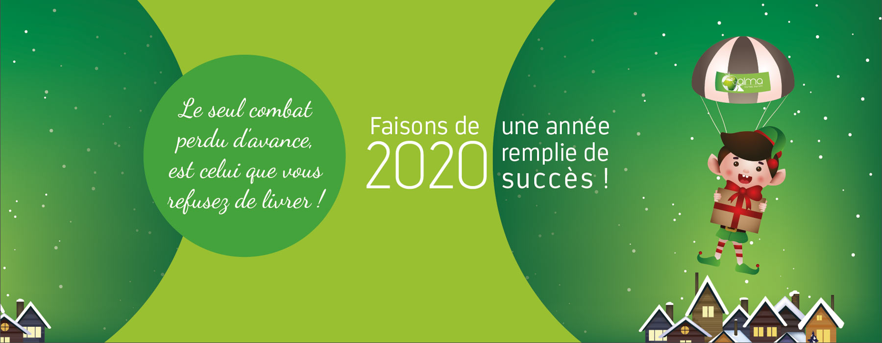 Voeux Alma Courses express 2020