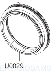 DOOR DIAPHRAGM;HEBA-PJT,EPDM,T1.5,-,GRAY (1