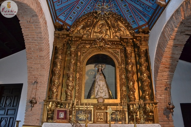 Video Ermita Virgen del Castillo y su Virgen en Chillón