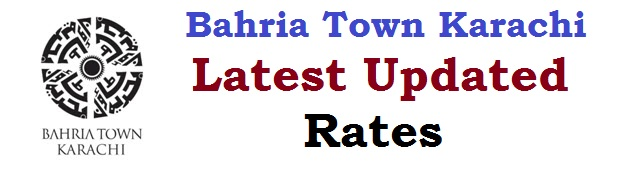 bahria town karachi latest updated rates