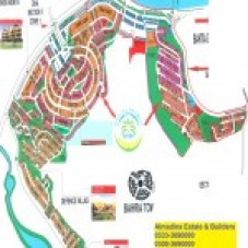 DHA Sector F islamabad Map