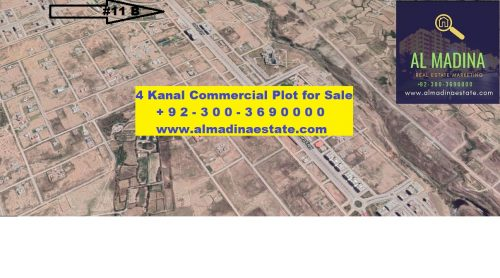 gulberg commercial plot for sale