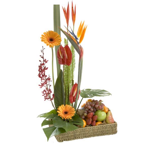 Canasta frutal Ikebana