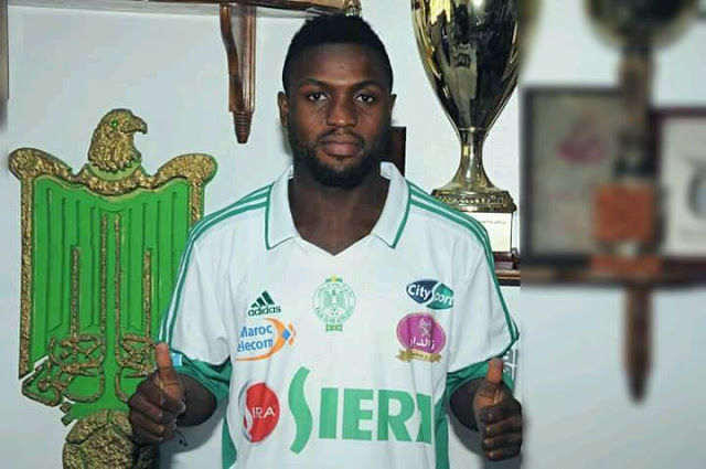 بودريقة يبيع لاعبه النيجيري باباتوندي لحل أزمة الرجاء المالية