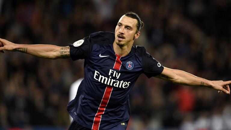 إبراهيموفيتش أفضل لاعب في الدوري الفرنسي لثالث مرة