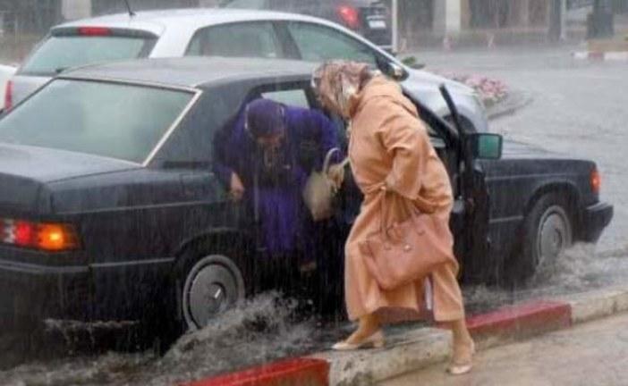 نشرة إنذارية… الأرصاد الجوية تتوقع سقوط أمطار عاصفية بعدد من مدن المغرب