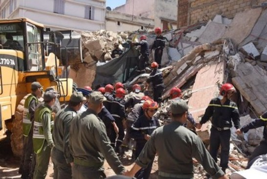 ابتدائية الدار البيضاء تستمع للمتابعين في ملف انهيار عمارة سباتة